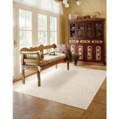 Contour Ivory 5 ft. x 8 ft. Area Rug