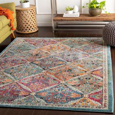 Caius Multi 2 ft. x 3 ft. Oriental Area Rug