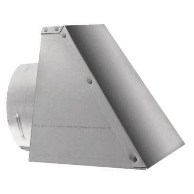 PelletVent 8 in. x 8.25 in. Fixed Horizontal Chimney Cap