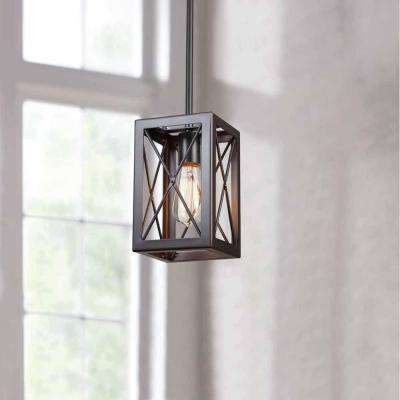 1-Light Royal Bronze Mini-Pendant