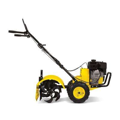 19 in. 212cc 4-Stroke Gas Counter Rotating Rear Tine Tiller with Self-Propelled Agricultural Tires