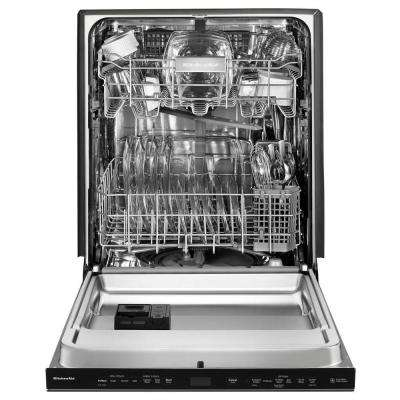 Top Control Built-In Tall Tub Dishwasher in Printshield Stainless with Clean Water Wash System, 44 dBA