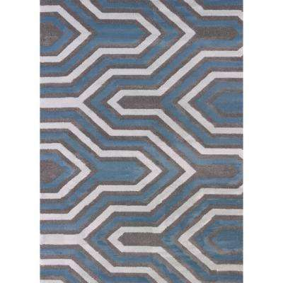 Cupola Charcoal 7 ft. 10 in. x 10 ft. 6 in. Indoor Area Rug