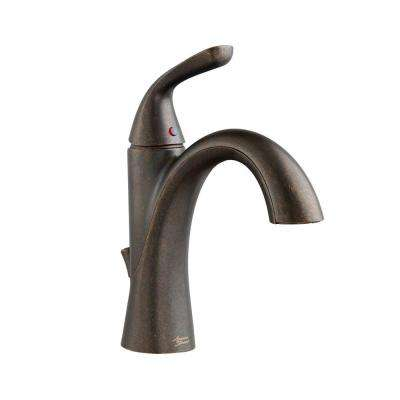 Fluent Single Hole Single-Handle Bathroom Faucet in Oil Rubbed Bronze