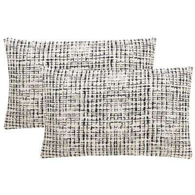 Data Printed Patterns Pillow (2-Pack)