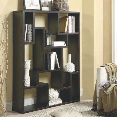 Meyers Cappuccino Bookcase