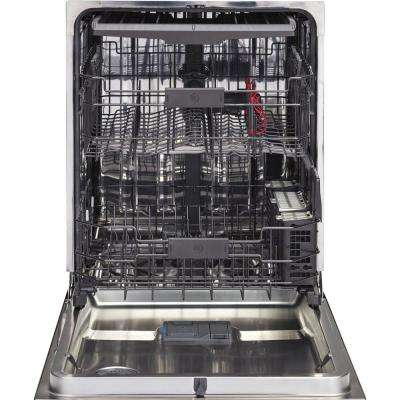 Top Control Dishwasher in Black with Stainless Steel Tub and Steam Prewash, 45 dBA