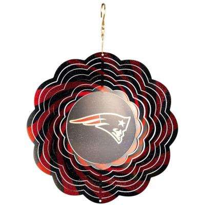 NFL 10 in. New England Patriots Geo Spinner