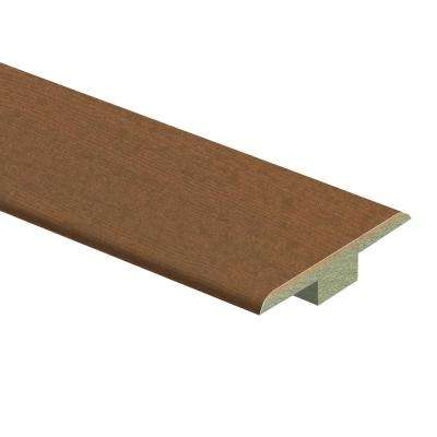 Oceanside Beechwood 7/16 in. Thick x 1-3/4 in. Wide x 72 in. Length Laminate T-Molding