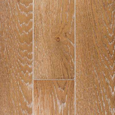 Oak Charleston Sand Wire Brush 1/2 in. Thick x 5 in. Wide x Random Length Engineered Hardwood Flooring (27.5 sqft./case)