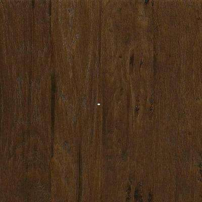 Western Hickory Saddle Engineered Hardwood Flooring - 5 in. x 7 in. Take Home Sample