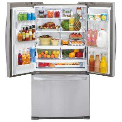 26.8 cu. ft. French Door Refrigerator in Stainless Steel