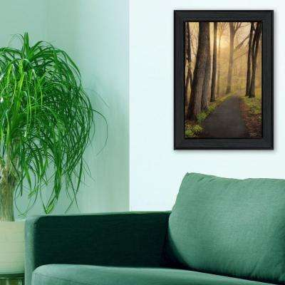 "18 in. x 12 in. ""After The Rain"" by Robin Vieira Printed Framed Wall Art"
