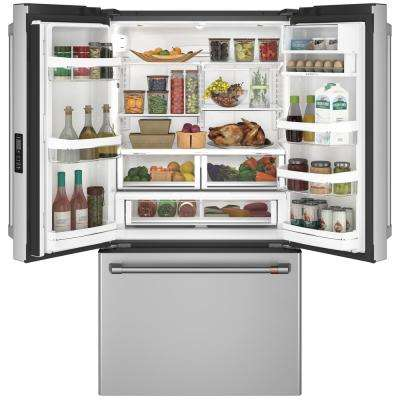 23.1 cu. ft. Smart French Door Refrigerator in Stainless Steel, Counter Depth and ENERGY STAR