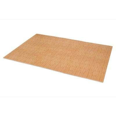 Light Bamboo Printed Wood Grain 24 in. x 24 in. x 3/8 in. Interlocking EVA Foam Flooring Mat (24 sq. ft. / pack)