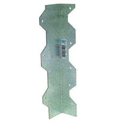 ZMAX 9 in. 16-Gauge Galvanized Reinforcing L-Angle