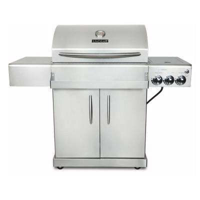 Infrared Technology 2-Burner Infrared Propane Gas Grill in Stainless Steel