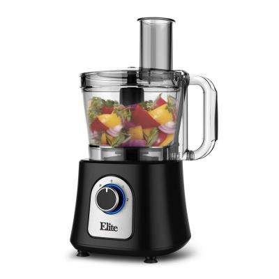 Platinum 12-Cup Food Processor in Black