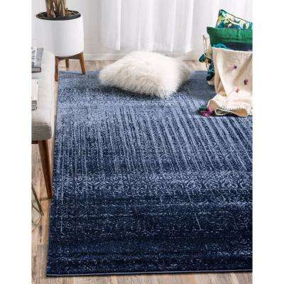 Del Mar Jennifer Blue 2' 2 x 3' 0 Area Rug
