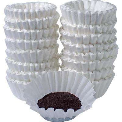12 Cup Size White Commercial Basket Filter (800-Count)