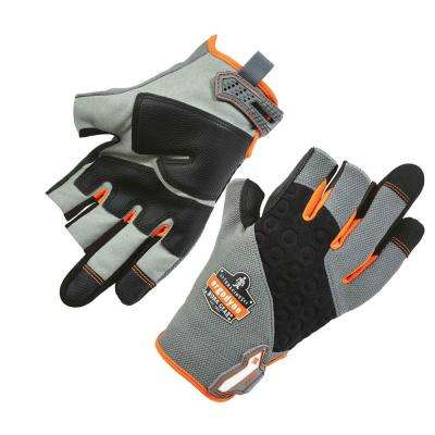 ProFlex Gray Heavy-Duty Framing Work Gloves