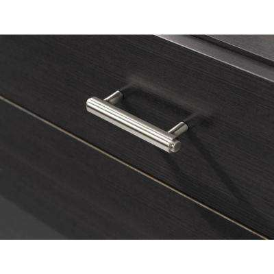 Iso 3 in. Brushed Nickel Drawer Center-to-Center Pull