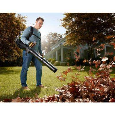 145 MPH 625 CFM 40-Volt Lithium-Ion Cordless Backpack Blower 5 Ah Battery and Charger Included