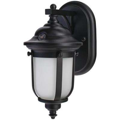 LED Small Exterior Wall Light with Dusk to Dawn Control