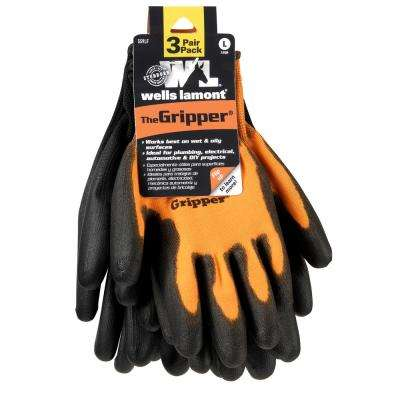 Large PU-Coated Ultimate Gripper Work Gloves