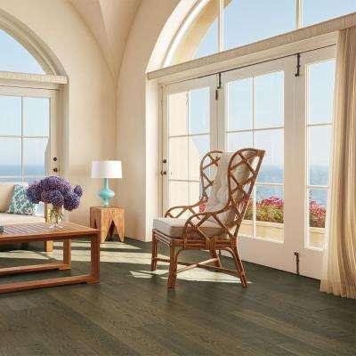 French Oak Baker 3/8 in. T x 6-1/2 in. W x Varying Length Click Lock Engineered Hardwood Flooring (945.6 sq. ft./pallet)
