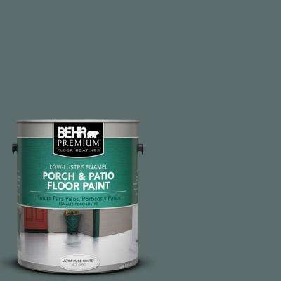 1 gal. #PPU12-19 Mountain Pine Low-Lustre Porch and Patio Floor Paint
