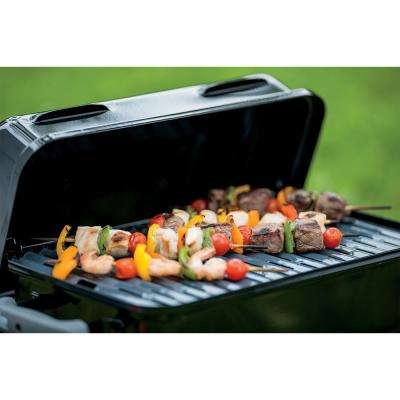 Go-Anywhere 1-Burner Portable Propane Gas Grill in Black