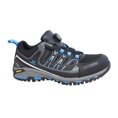 Fjell Low Boa Men's Black/Blue Nylon Composite Toe Work Shoe