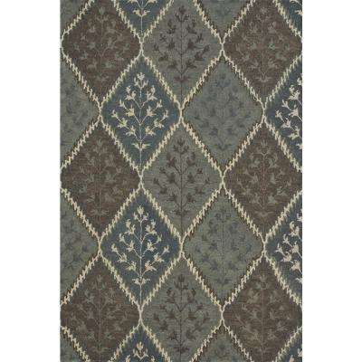 Fairfield Lifestyle Collection Blue/Multi 7 ft. 6 in. x 9 ft. 6 in. Area Rug