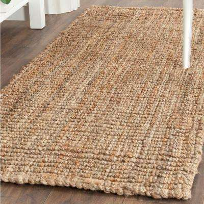 Natural Fiber Beige 2 ft. x 6 ft. Runner Rug