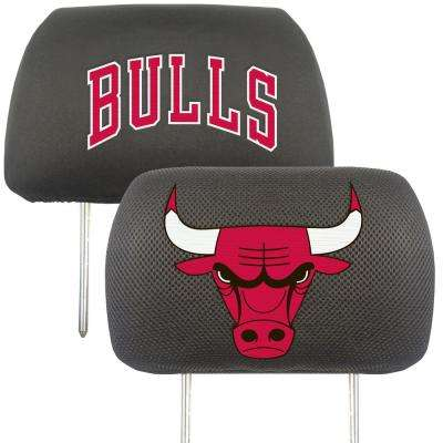 NBA - Chicago Bulls Mesh 13 in. x 10 in. Head Rest Cover
