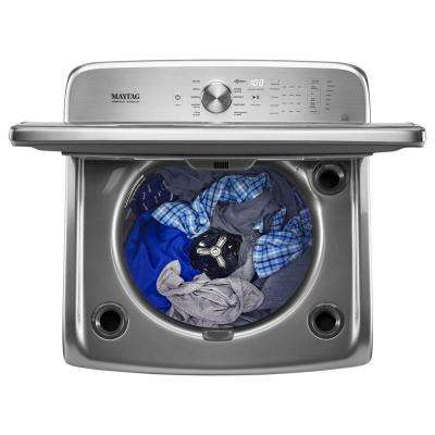 6.2 cu. ft. High-Efficiency Metallic Slate Top Load Washing Machine with POWERWASH System, ENERGY STAR