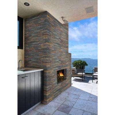 Salvador Multi Ledger Corner 6 in. x 6 in. Natural Slate Wall Tile (6 sq. ft. / case)
