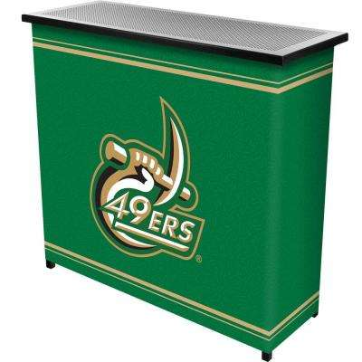 2-Shelf 39 in. L x 36 in. H University of North Carolina Portable Bar with Case