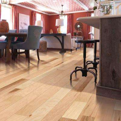 Country Natural Hickory 3/8 in. T x 5 in. W x Varying Length Soft Scraped Engineered Hardwood (23.5 sq. ft.)
