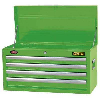 26 in. 4-Drawer Tool Chest in Wide Lime Green