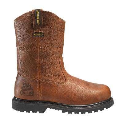 Men's Edgework Wellington Work Boots - Steel Toe