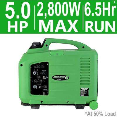 Energy Storm 2,800-Watt 150cc Gasoline Powered Electric Start Inverter Generator with Remote Start