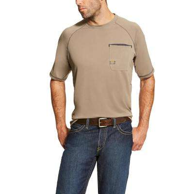 Men's Brindle Rebar Sunstopper Short Sleeve Work Shirt