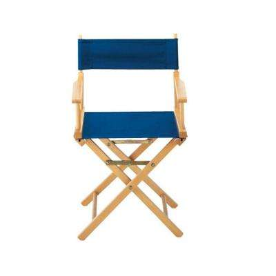 Navy Seat and Back for Director's Chair (Cover Only)