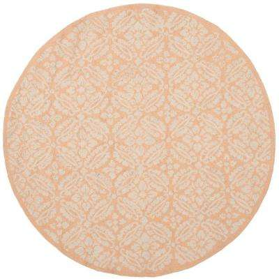 Chelsea Blush 8 ft. x 8 ft. Round Area Rug