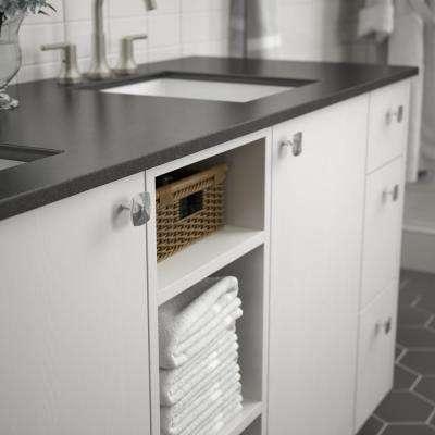 Devereux 1-5/16 in. (33 mm) Polished Chrome Cabinet Knob