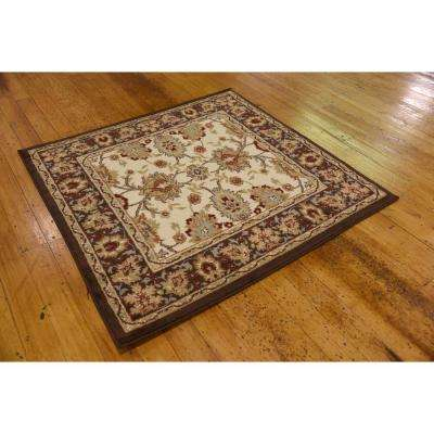 Voyage Springfield Ivory 4' 0 x 4' 0 Square Rug