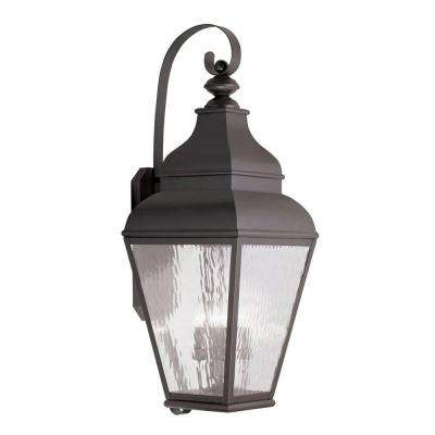 Providence Wall-Mount 4-Light Outdoor Bronze Incandescent Lantern