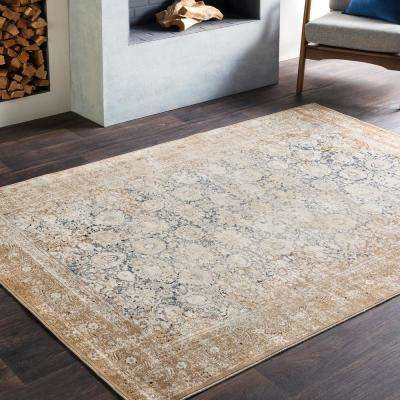 Natalius Beige 7 ft. x 10 ft. Indoor Area Rug